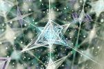 冬のネイルは定番のデザインに幾何学シールでアクセント☆大人可愛い