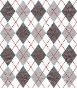 冬のトレンド☆アーガイルネイルやベルベットのセルフで簡単なやり方